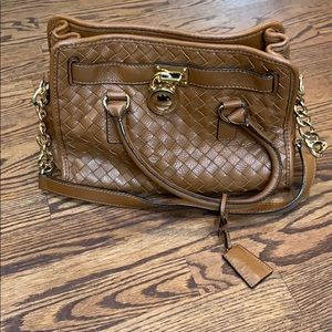 EXCELLENT Michael KORS Leather Braided Bag